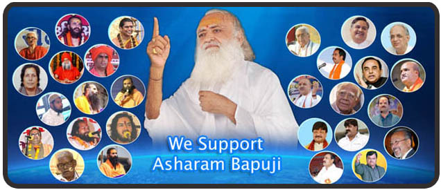 We Support Asaram Bapuji